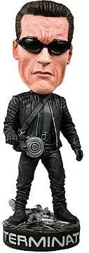Terminator 3 Arnold Schwarzenegger Head Knocker ems statue terminator t800 1 4 bust arnold schwarzenegger half length photo or portrait battle damage version model toy w95