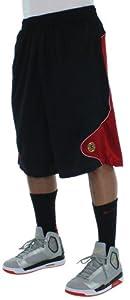 Jordan Mens Nike Retro XIII 13 Sport Cut Basketball Shorts-Black Red by Jordan
