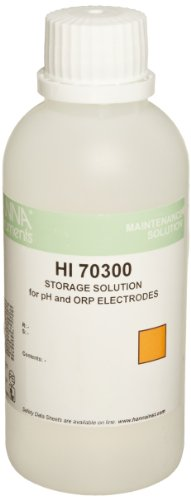 Hanna Instruments HI 70300M Storage Solution for pH/ORP Electrodes, 230mL Bottle