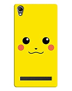 FurnishFantasy 3D Printed Designer Back Case Cover for Intex Aqua Power Plus