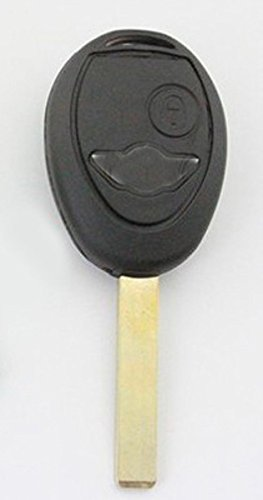 For Bmw Mini 2 Button Remote Key Fob Case Shell + Uncut Blade