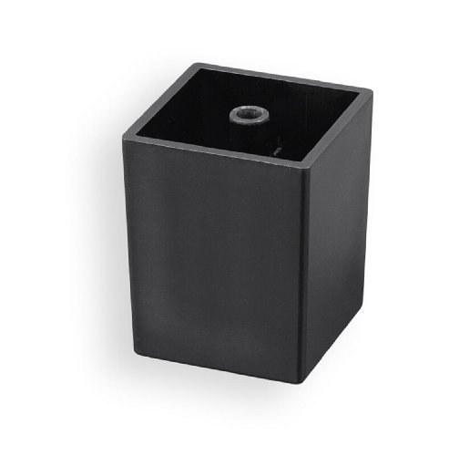 4-er Set Möbelfuß, Polsterfuß, Sockellfuß, Kunststoff schwarz