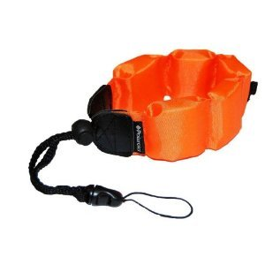 Panasonic Lumix DMC-TS4 Digital Camera Underwater Accessory Kit Floating Wrist Strap - Orange - Replacement by General Brand