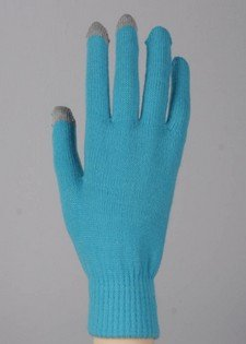 Blue Yelete Texting Gloves (One Pair) - Smart Phone Texting Gloves - 1