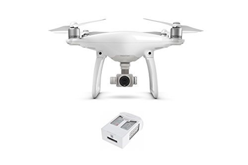 DJI 6958265123436 Phantom 4 Smart Flying Camera with Extra Battery