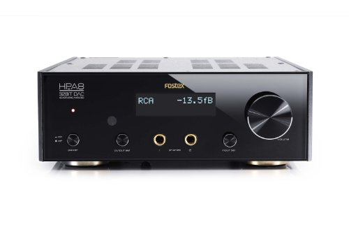 Fostex Hp-A8 32-Bit D/A Audio Converter And Headphone Amplifier