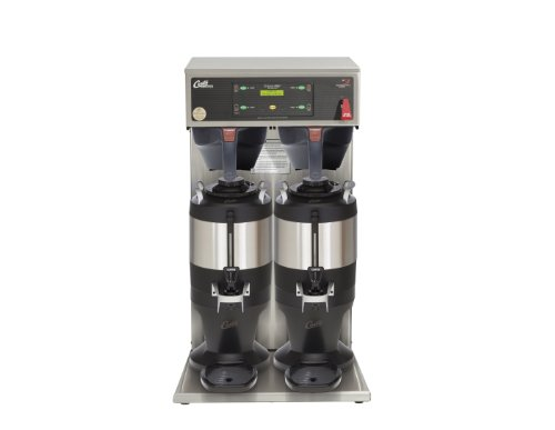 Wilbur Curtis G3 ThermoPro 1.5 Gallon Twin Coffee Brewer With Shelf - Commercial Coffee Brewer  - TP2T10A3500 (Each)