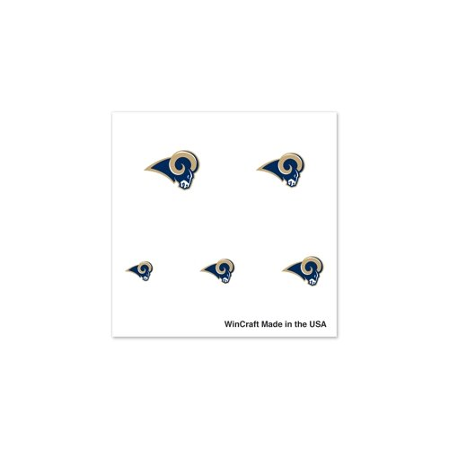 "St. Louis Rams Official NFL 1"" Fingernail Tattoo Set"