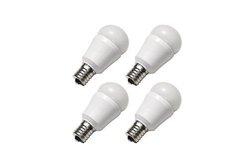 【Amazon.co.jp限定】パナソニック LED電球 E17口金 電球40W形相当 電球色相当(4.4W) 小型電球・広配光タイプ 4個入 密閉形器具対応 [フラストレーションフリーパッケージ (FFP)] LDA4LGE17K40ESW4TZ