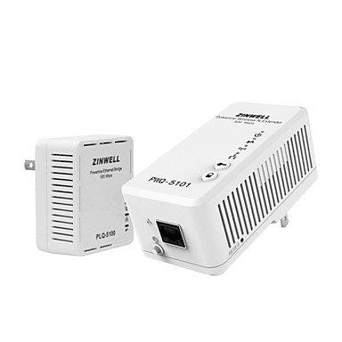Gjyzinwell Pwq-5101 Pwq-5100 500M Modem Powerline Wireless Extender Wifi Network Card Iptv Adapter