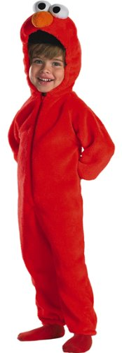 Toddler Tickle Me Elmo Halloween Costume (Sz:1-2T)