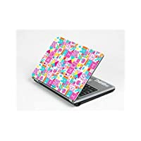Pink Patchwork - Laptop & Notebook Personalized Protective Skin Art Cover Decal