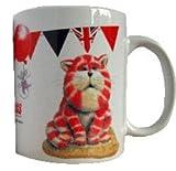 Bagpuss bunting mug