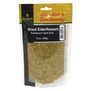 Brewer's Best Brewing Herb's and Spices - Dried Elderflowers