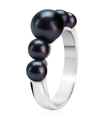 Manufacture Royale des Perles du Pacifique Ring schwarz