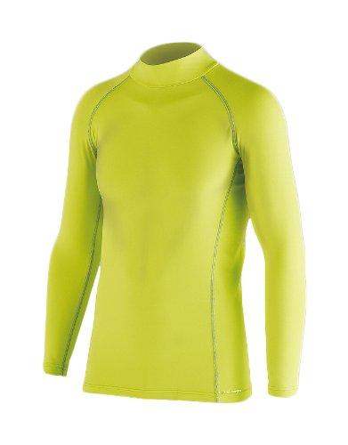 おたふく手袋 ボディータフネス BTパワーストレッチ ハイネックシャツ(BOXタイプ) ライトグリーン フリー JW-171