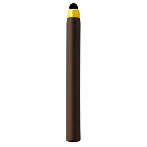 OZAKI スタイラスペン交換用チップ2個付属(スマートフォン各種/iPhone/iPad/Nexus/Galaxyなどに対応)O!tool Stylus-R w/refills for iPad/iPhone/iPod touch Brown ブラウン OT210BR