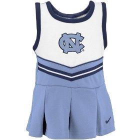 North Carolina Tar Heels Nike Toddler Cheerleader Dress by Nike