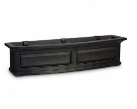 Nantucket Window Box 4ft Black