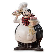 American Atelier Buon Appetito Chef Cookie Jar by American Atelier