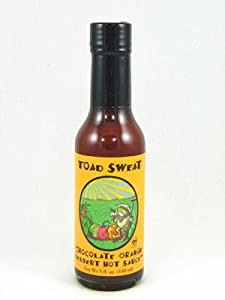 Toad Sweat Chocolate Orange Dessert Hot Sauce by Peppered Palette
