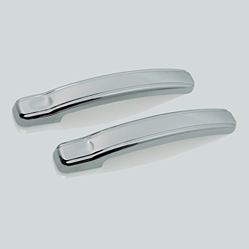 E-Autogrilles Triple Chrome Plated ABS 2 Door Handle Covers ( Handles Only ) for 02-06 Chevrolet Avalanche / 99-06 Chevrolet Silverado 1500 / 99-06 GMC Sierra 1500 / 01-06 Chevrolet Silverado 2500/3500 / 01-06 GMC Sierra 2500/3500 ( 64-0125 ) (Chrome Door Handle Covers compare prices)
