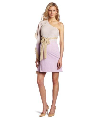 Nuka Women's Maternity Asymmetric Dress, Shell, Large