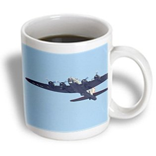 3dRose B-17 G Flying Fortress War Plane US50 BFR0041 Bernard Friel Ceramic Mug, 15-Ounce