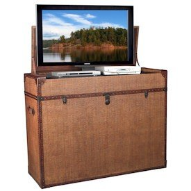 Cheap TV Lift Cabinet Bermuda Run TV Stand (AT006213)