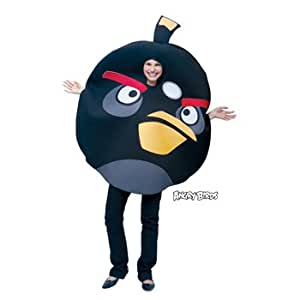 Angry Birds (Black) Child Costume Size One-size