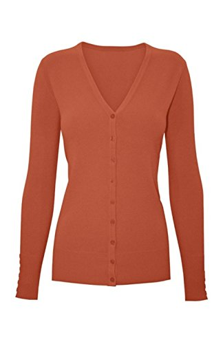 2luv-plus-womens-long-sleeve-v-neck-button-up-cardigan-rust-xxl-sw205-plus-size-lem-yellow