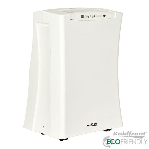 Koldfront PAC701W Slim Design 7,000 BTU Portable Air Conditioner, White