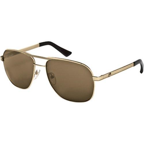 Dragon Alliance Roosevelt Men's Large Fit Designer Sunglasses - Gold/Bronze алтарь dragon antique furniture