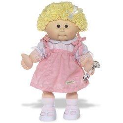 Cabbage Patch Kids 25th Anniversary Doll Blonde Girl $9.99  Reg. $29.99 - Amazon 31aU9kQgAGL._SL500_AA250_