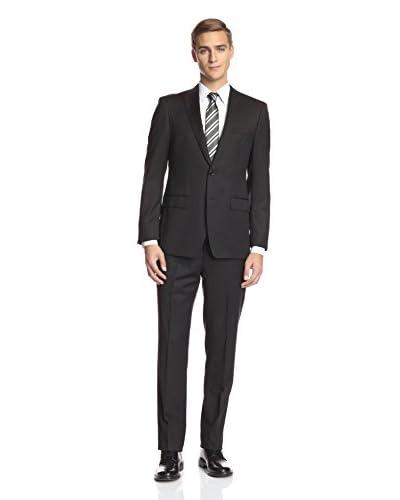 Bruno Piatelli Men's 2 Button Stripe Suit
