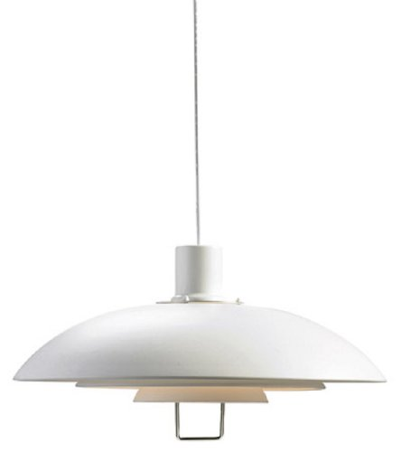 Markslojd Kirkenes Ceiling Pendant with Lift, White