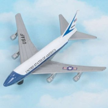 Hot Wings Air Force One 747