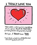 Edward Monkton - Valentine Card - I Truly Love you New in Cello (EMV45)