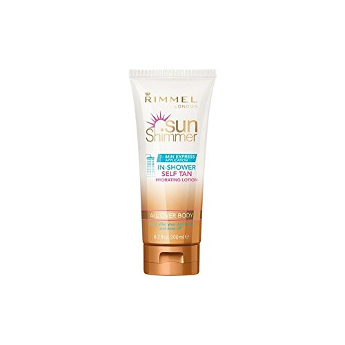 Rimmel Sunshimmer In Shower Self-Tan 200ml (Shower Tan compare prices)
