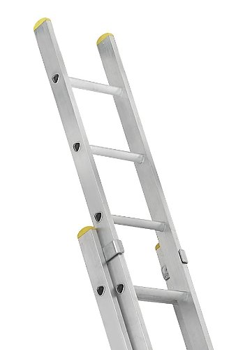 Promaster Box Section 2.4 Meters Double Extension Ladder