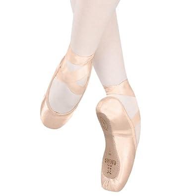 """Recital"" Pointe Shoe,202SAT5 M,European Pink Satin,5 M US"