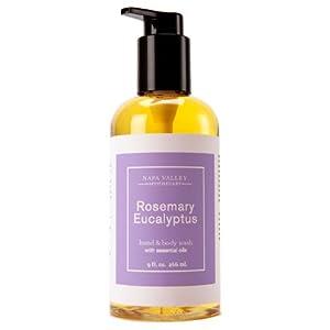 Olivina Hand & Body Wash - Rosemary Eucalyptus, 9 Oz. from Olivina