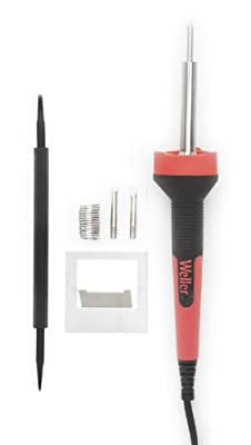 Weller LED Soldering Iron Kit, Red/Black