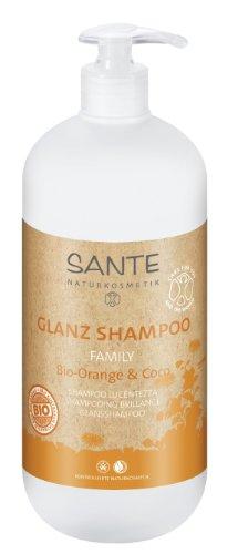 Sante Naturkosmetik Family Glanz Shampoo Bio-orange und coco 950ml, 1er Pack (1 x 950 ml) thumbnail