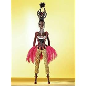 Tano Barbie Doll - Treasures of Africa Collection - by Byron Lars - Gold Label Doll: $89.99