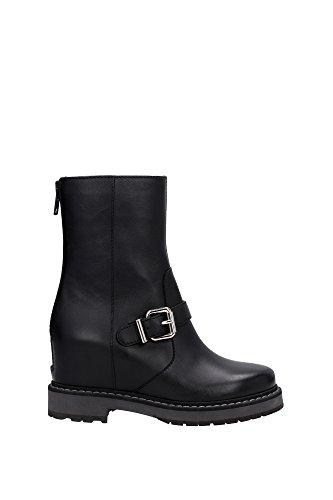 8T49743RUF0QU8-Fendi-Chaussure-mi-montantes-Femme-Cuir-Noir