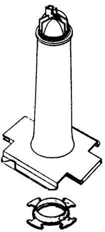 Spray Tower And Gasket front-102264