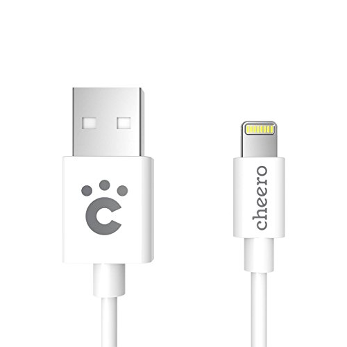 cheero Standard Lightning Cable Charge  Sync 100cm APPLE MFi 認証取得済み ライトニングケーブル