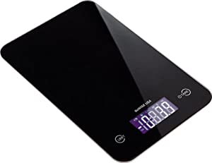 GoWISE USA Digital Kitchen Scale 11 Lbs Capacity Tempered Glass Food Scale GW22002 by GoWISE USA