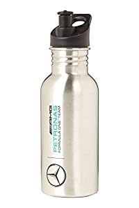 2016 Mercedes-AMG F1 Formula One SILVER Sports Bottle Stainless Steel / Plastic from Mercedes-AMG Petronas Formula One Team